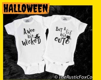 Boy Girl Twins, Twin Bodysuits, Twin Onesies, Funny Twin Onesies, Funny Twins, Twin Babies, Twin Outfit, Twins, Halloween Twin Outfit, Twin