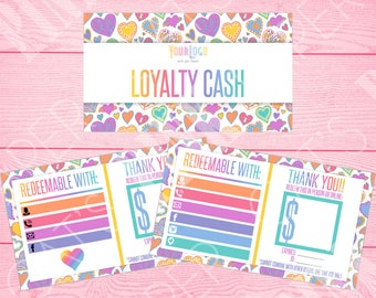 Loyalty Cash | Hearts | Customize