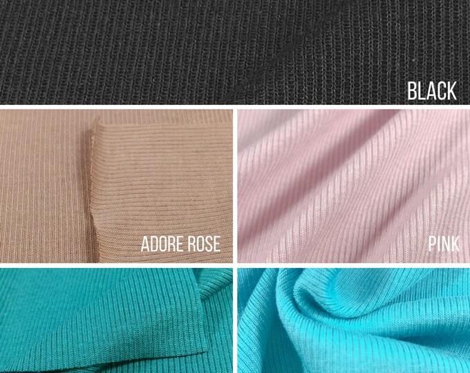 Modal/Spandex 2x1 Rib Fabric