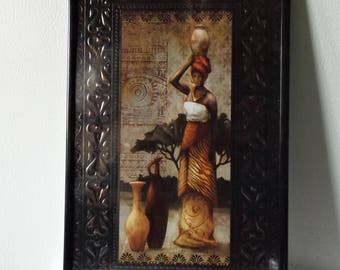 African wall art Etsy