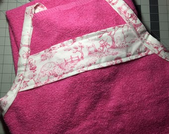 Bath Towel Apron
