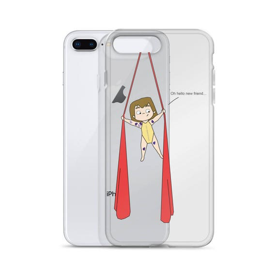 Aerial silk case, aerialist circus gift, Aerial circus, aerial problems, iphone case, aerial silk, circus party, unique case, Slimfit case