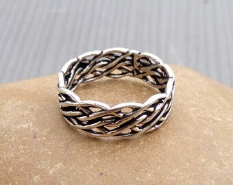 Finger Band rings   Tribal jewelry rings   Gift jewelry from India   Hand crafted fusion rings   Anniversary gift jewelry for women's   R120