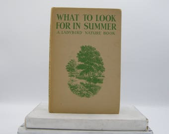 What to Look For in Summer (Vintage, Ladybird, Nature)