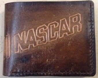 handmade Nascar wallet