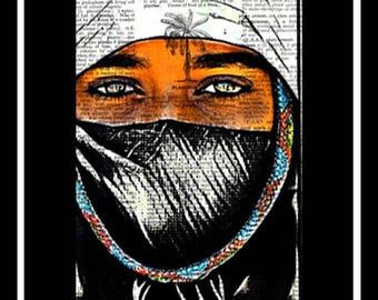 566 Bedouin Vintage Art