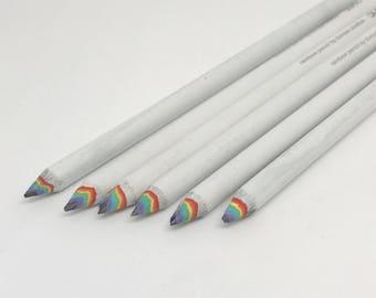 Cute Rainbow Pencils for Back To School Gay Pride Pens School Supplies Planner Accessories Pride Happy Planner