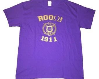 Omega Psi Phi (ROOQue 1911) T Shirt