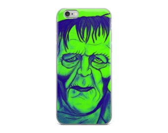 Frankenstein iPhone 5/5s/Se, 6/6s, 6/6s Plus Case Horror Movie Lover Gift Classic Hollywood Monster Character Halloween Phone Case Protector