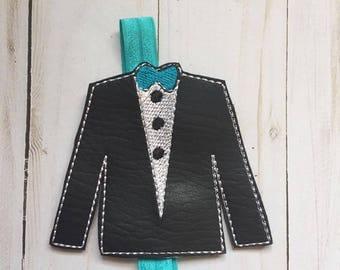 Tux Slider Embroidery Design