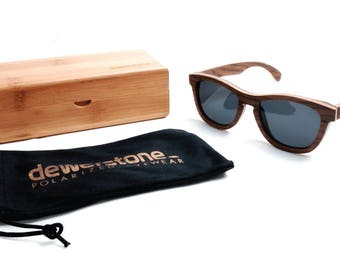 Summit Limited Edition Maple Wood Sunglasses - Polarized Lenses