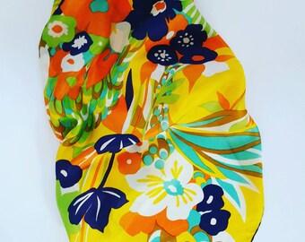 De La Roche vintage scarf