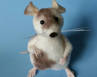 Sold Individually, Mouse, needle felted mouse, wool sculpture, mice ornaments, woodland creatures, needle felted animal