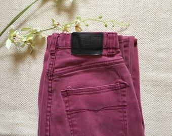 """Route 66 Red/Pink Vintage Jeans- 25"""""""
