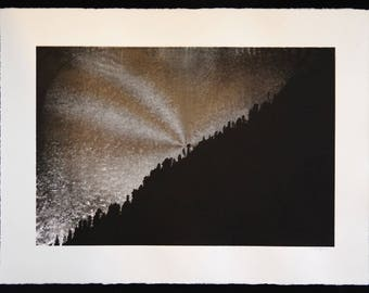Kalga Skyline Silkscreen art print