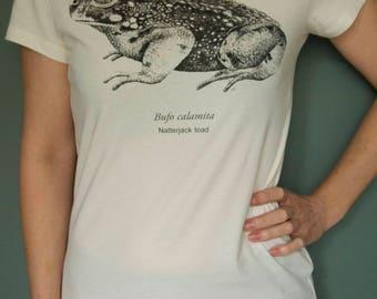 Bufo calamita, Natterjack toad Woman's t-shirt