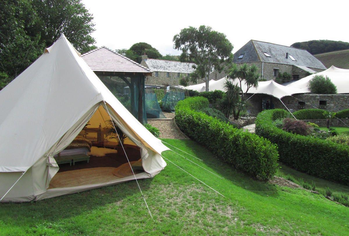 original coywolf bell tent for glamping festival tent yurt
