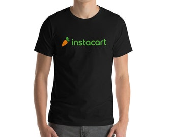 Instacart T-Shirt For Grocery Delivery Drivers S-4XL