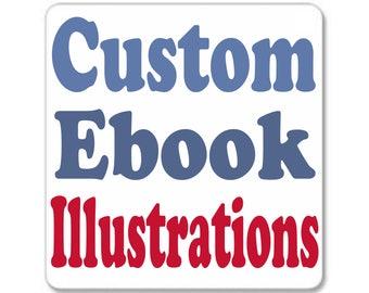 Custom Ebook Illustration for Amanda S