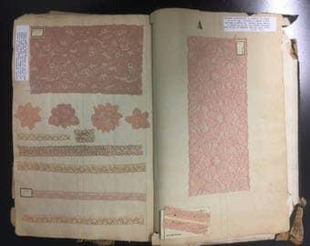 Antique Lingerie Lace Swatch Book