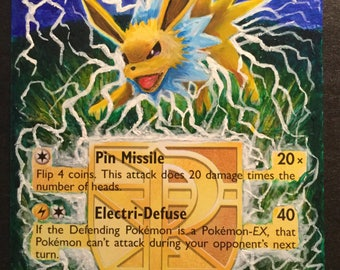 Jolteon - Extended Art Trading Card