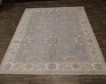 Nice Handmade Oushak Zeigler Pure Wool Pakistan Oriental Rug Area Carpet 8X10