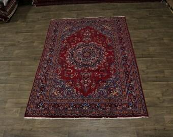 7X10 S Antique Traditional Sabzevar Persian Rug Oriental Area Carpet 6'6X9'6