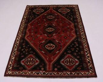 Lovely S Antique Handmade Tribal Shiraz Persian Rug Oriental Area Carpet 5'7X8'3