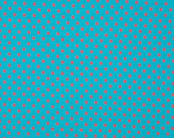 Romy - dots pink turquoise amid