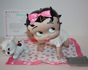 Betty Boop Baby Boop's Porcelain Collector Doll Clowning Around Danbury Mint 1997