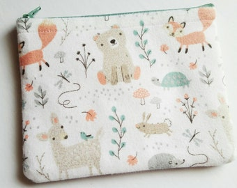 Baby Bag, Mama Bag, Spring Forest Animals, Makeup Bags
