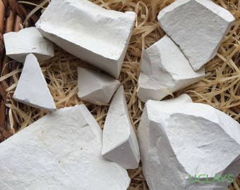 VATUTIN edible Chalk chunks natural lump for eating, Free Samples  (Russian chalk)