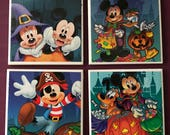 Mickey's Not So Scary Halloween Party Park Maps Coasters