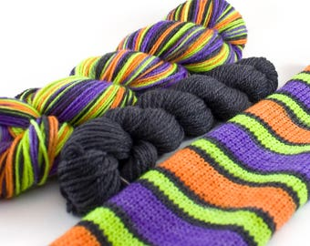 Striping Sock on Fluffy Feet