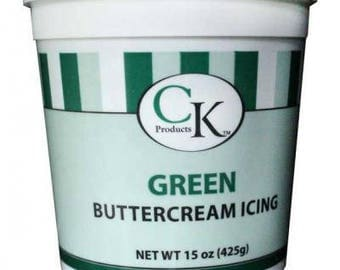CK Products Green Buttercream Icing 15oz
