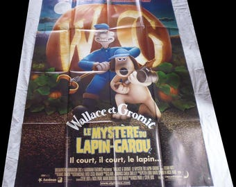 original movie poster Wallace and Gromit