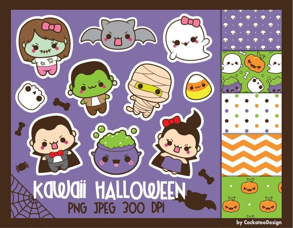 50% OFF Halloween clipart kawaii halloween clip art kawaii (570 x 443 Pixel)