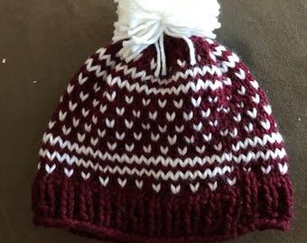 Isle knit hat