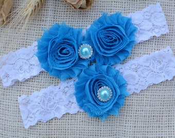 Garter Blue Wedding, Garter Set, Blue Bridal Clothing, Somethig Blue, Garter For Bridal, Garter For Brides, Lace Garter Blue, Keep Garters