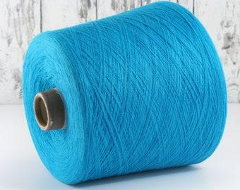 600g cotton yarn on cone, Italy/cotton yarn (Italy) on cone: Y001111