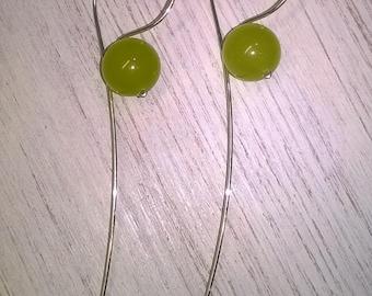 Jade Design Earrings