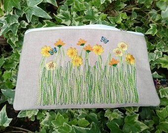 Sotis embroidery file wildflower meadow for the 13 x 18 and 16x26er framework