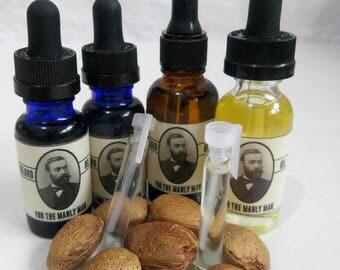 Beard oil 3 pack sampler.