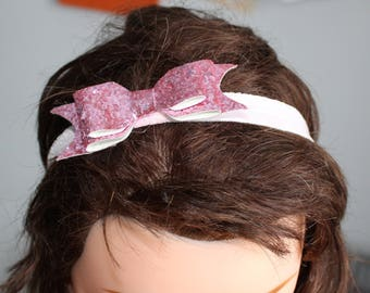 Headband bow, girl headband