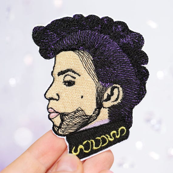Prince Patch - Iron On Patch - Music Patch