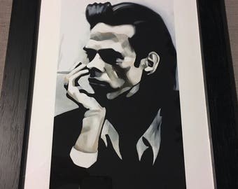 Nick Cave Framed Limited Edition Signed Print