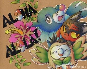 Aloha Alola Print