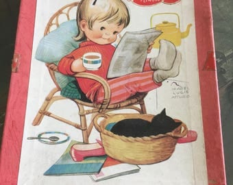 "Vintage victory ""mabel lucie attwell "" jigsaw"