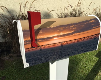 Mackinac Sunset Magnetic Mailbox Cover