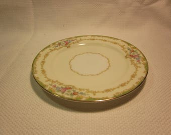 Vintage Noritake Roberta bread and butter plate